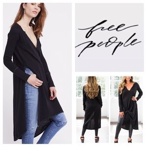 Free People Super Sonic Thermal Knit Tunic.  NWT.